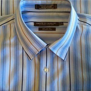Forsyth of Canada Wrinkle Free XXL Dress Shirt